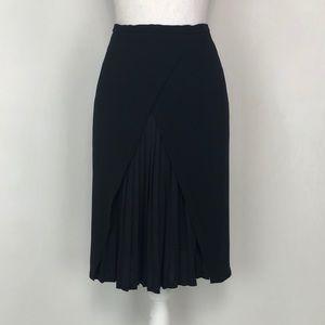 Max Mara Peekaboo Pleat Skirt